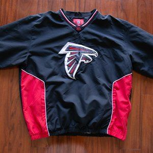 NFL Atlanta Falcons Pullover Windbreaker